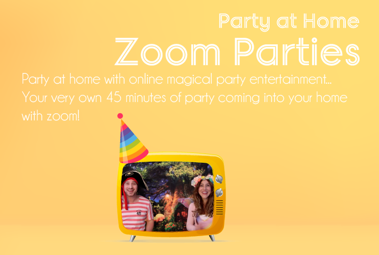 Online Zoom Parties - Children's Entertainers London UK