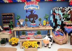Cowboy Rodeo Birthday Party Boys Theme