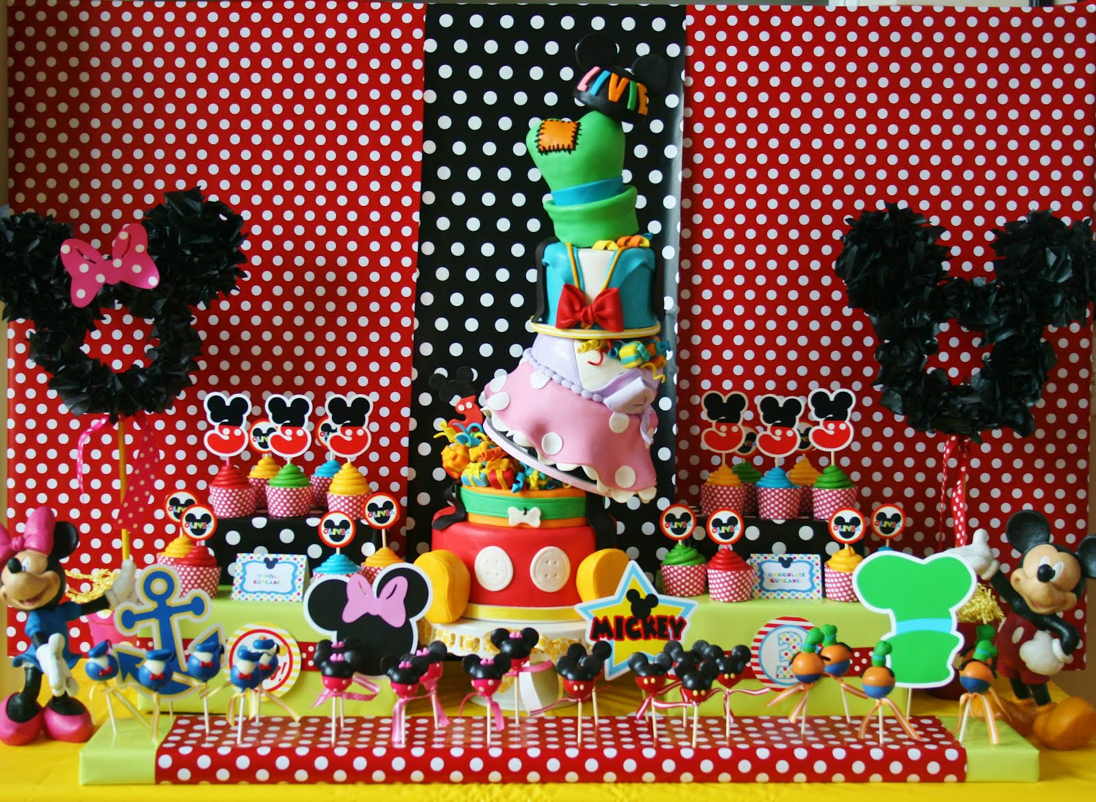 ... Disney Birthday Party Theme ... & birthday party themes Archives | Bubbles Crew Parties
