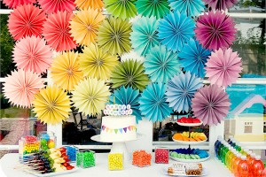 Birthday Party Ideas Rainbow Girls Boys Theme