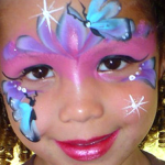 Princess Frozen Face Painting