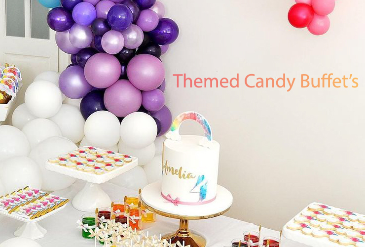 Themed Candy Buffet