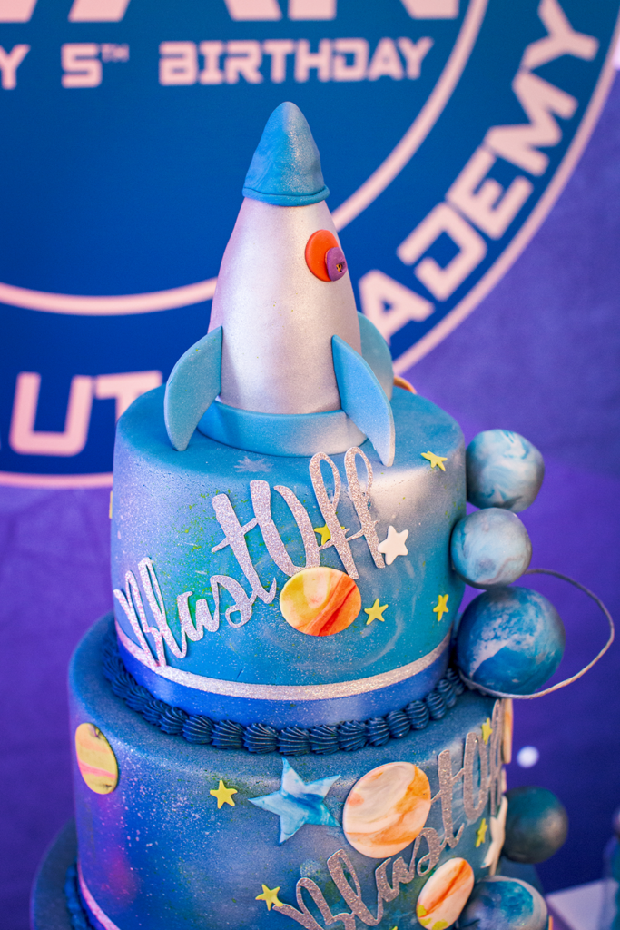 Space Party Cakes