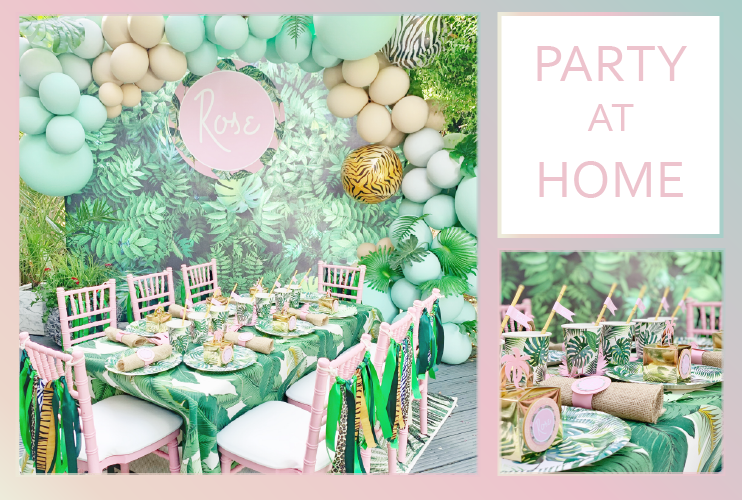 Party at Home Planners