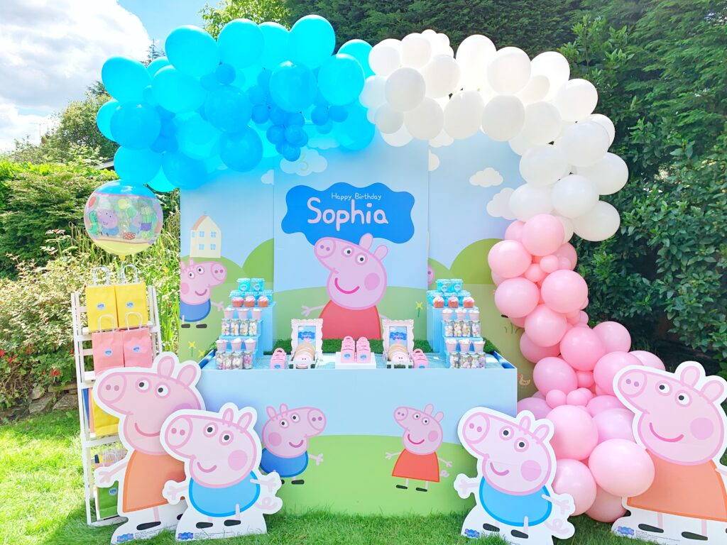Peppa Pig Party Balloon Ideas