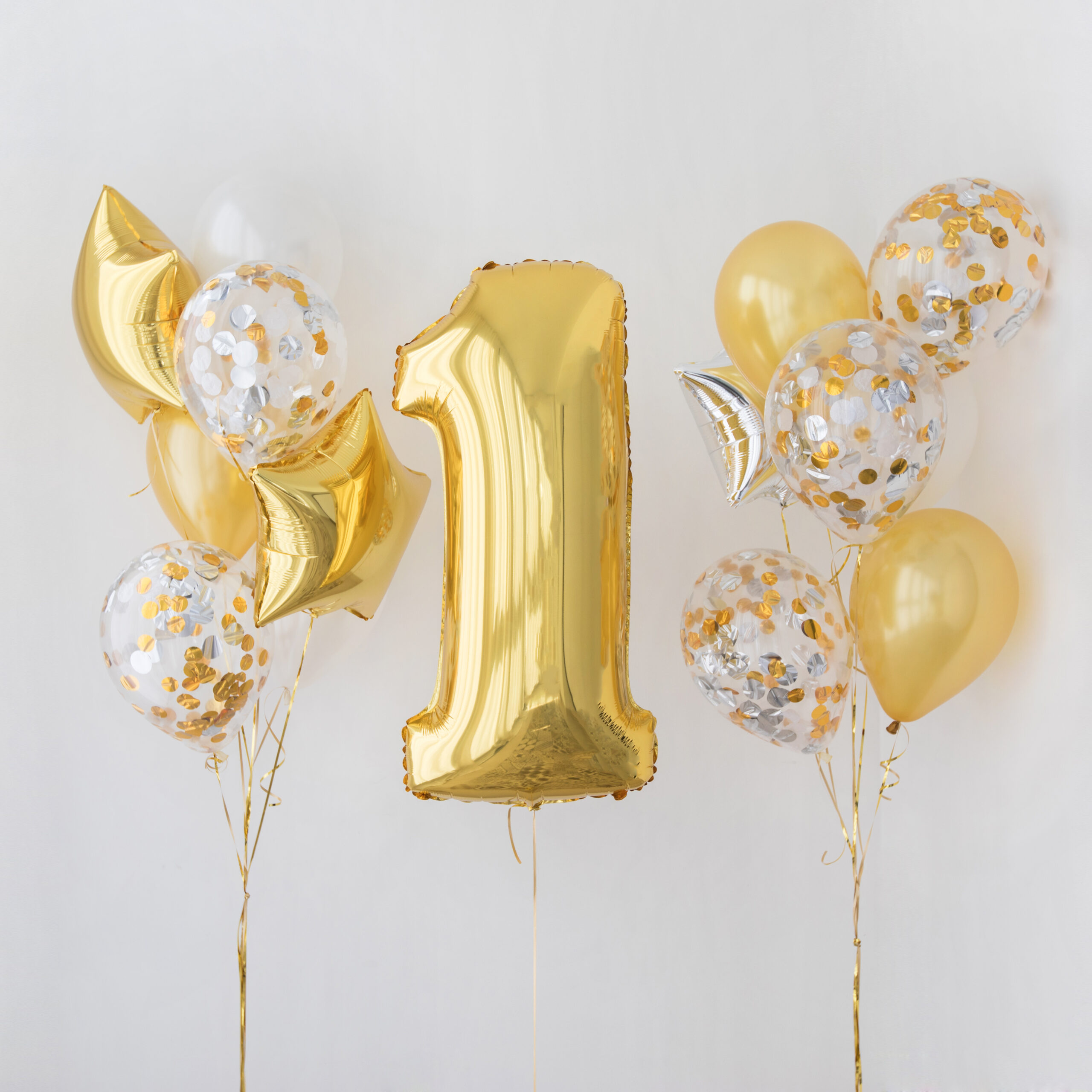 Helium Number Balloons Delivered