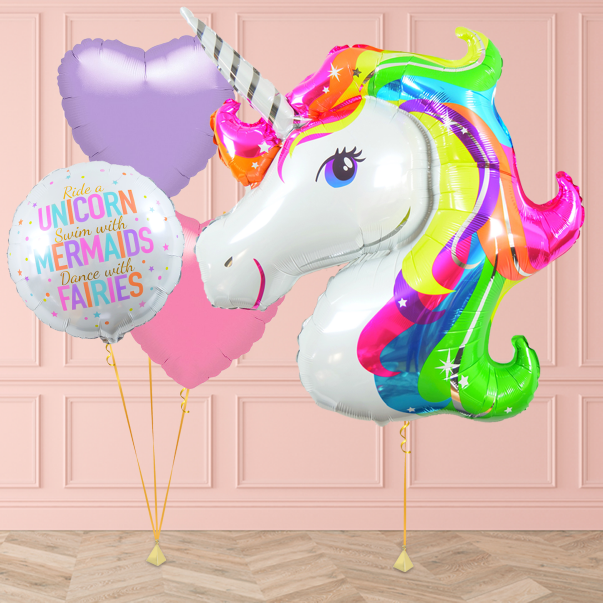 Unicorn Balloons Delivered
